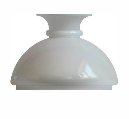 Hand-made Vesta shade (155/Opal white)  - old fashioned style - classic interior - retro