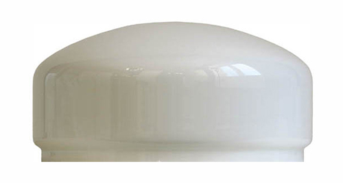 Lamp shade - 200 mm opal white