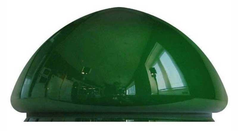 Lamp shade - 235 mm green
