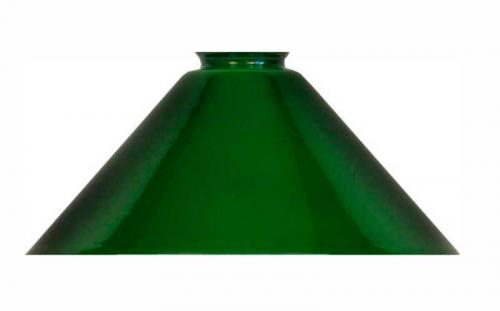 Shoemaker lamp shade with extra height - 25 cm Green