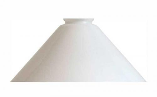 Shoemaker lamp shade with extra height - 25 cm Opal