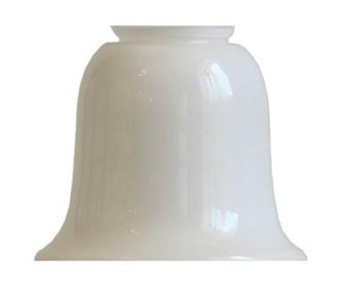 Bell shade - d130 Opal white