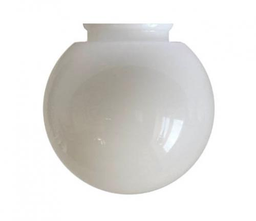 Globe shade - 80 mm Opal white