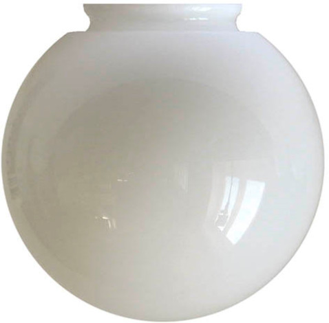 Globe shade - 100 mm Opal white