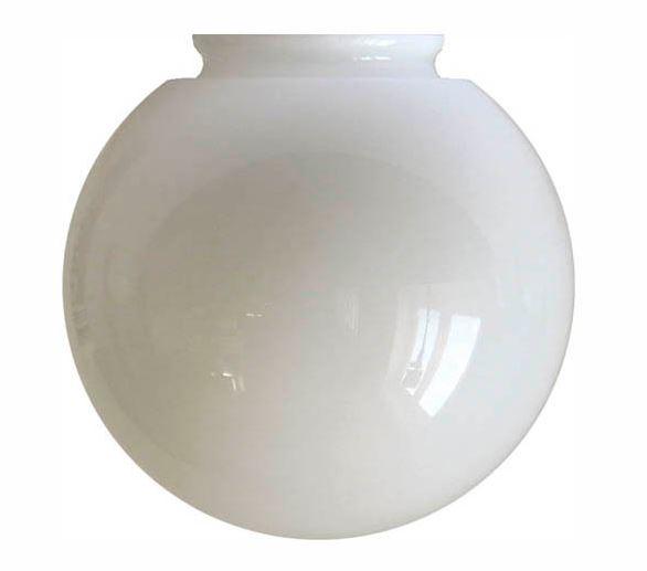Globe shade - 100 mm Opal white