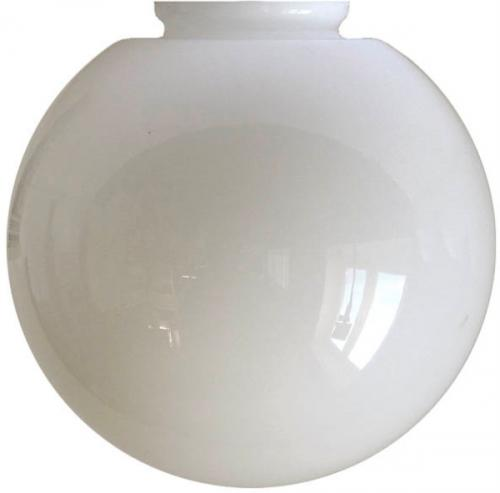 Globe shade - 100 Opal white - old style - vintage interior - retro
