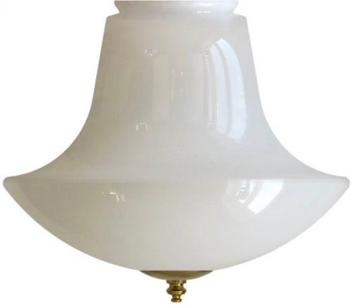 Anchor shade - 100 mm Opal white