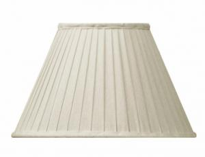 Fabric Shade 20 (Pleated / Beige / Ring)