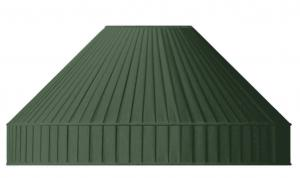 Fabric Shade 50 (Pleated / Green / Ring)