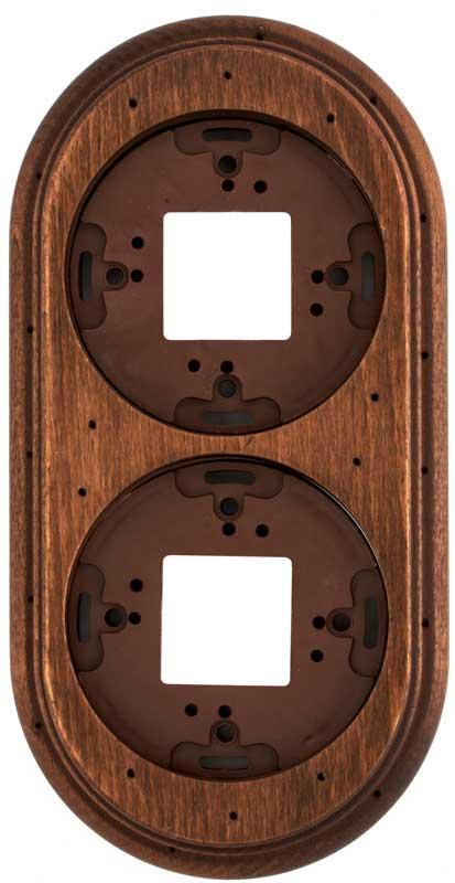 Wood Frame For 2 Element, Old Wood