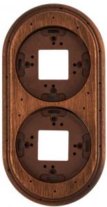 Wood Frame For 2 Element, Old Wood