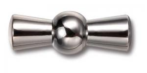 Knob to power switch - Chrome with chromed screw