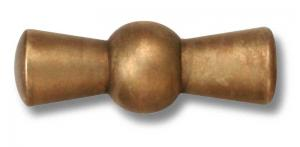 Knob to power switch - Bronze with bronzed screw