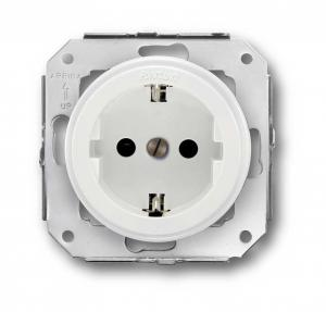 Fontini Outlet - White plastic without frame