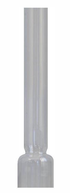 Round burner chimney - 14^53mm/26cm