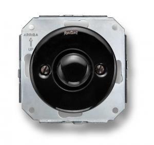 Innsats Dimmer - Universal dimmer LED 4-100W svart porselen