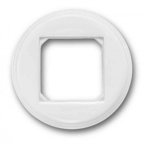Frame 1 Squared hole  G.Colonial, White Porcelain
