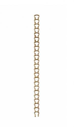 Step chain - Brassed iron 1 m