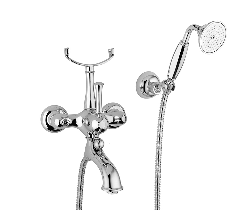 Bath tub shower mixer kit - Denver chrome