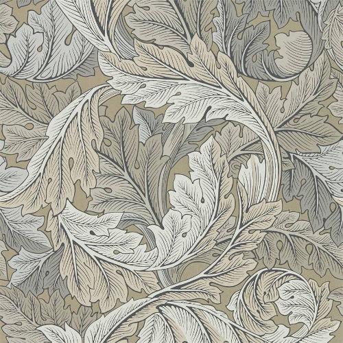 William Morris & Co. Wallpaper - Acanthus Manilla/Stone