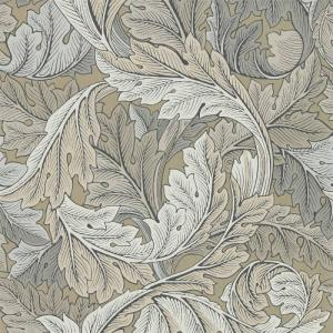 William Morris & Co. Wallpaper - Acanthus Manilla/Stone