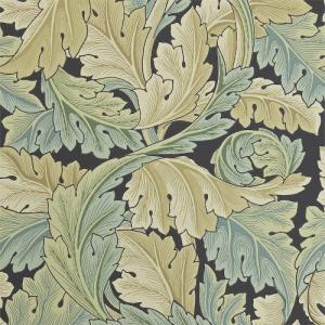 William Morris & Co. Tapet - Acanthus Privet - Gammaldags tapet med blad.