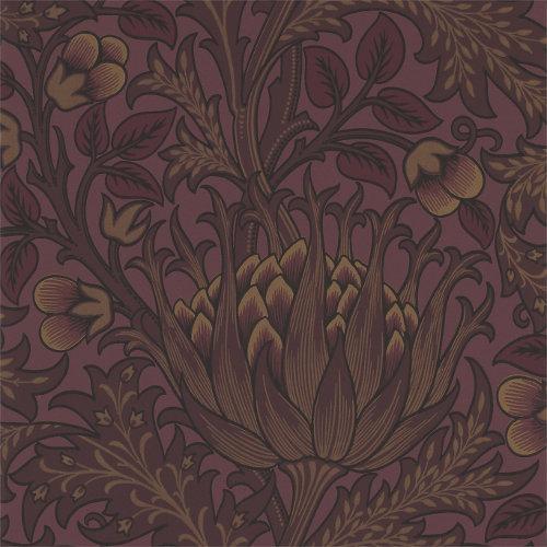 William Morris & Co. Wallpaper - Artichoke Wine