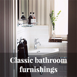 Classic bathroom furnishing - period style