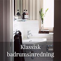 Klassisk badrumsinredning - Sekelskifte