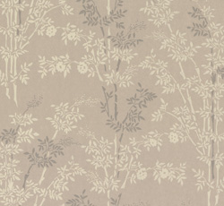 Wallpaper - Bambu grey/white
