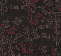 Wallpaper - Bambu black/red