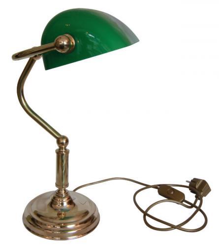 Bordslampa - Bankirlampa