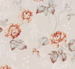 Wallpaper - Belle Epoque grey/terracotta
