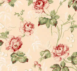 Wallpaper - Belle Epoque pink/green/red/glimmer