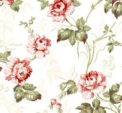 Wallpaper - Belle Epoque white/green/red/glimmer
