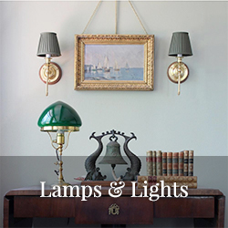 Oldstyle lamps and lighting