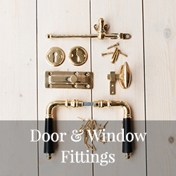 Old style door and window fittings - Sekelskifte