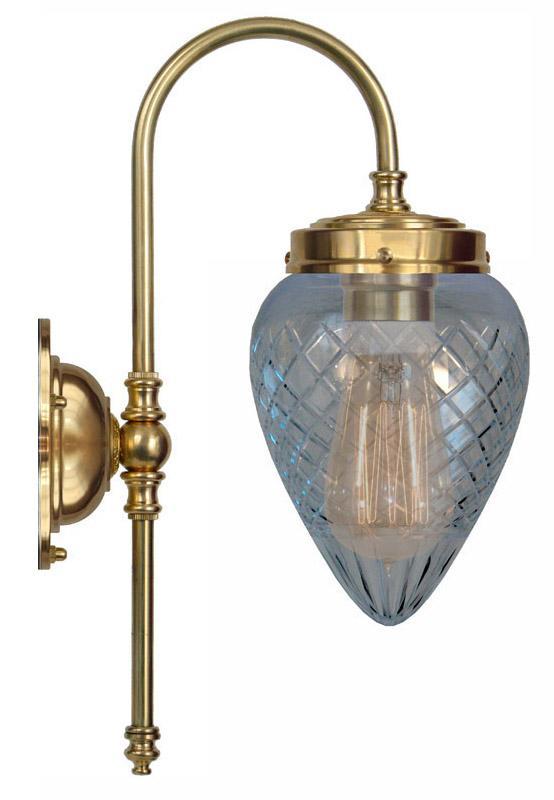 Bathroom Lamp - Blomberg 80 clear glass