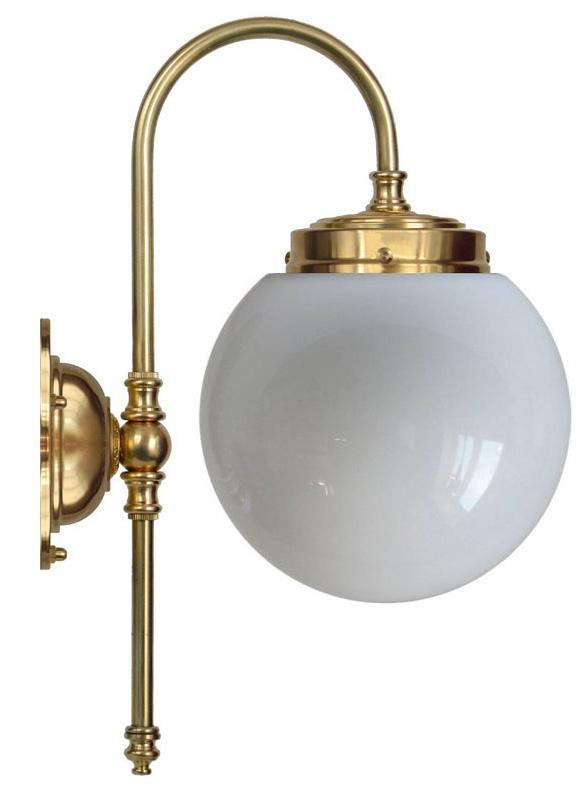 Wall lamp - Blomberg 80 globe opal white