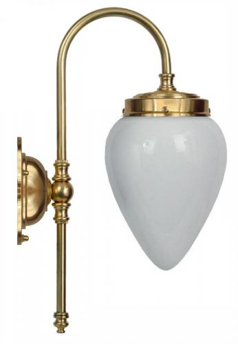 Wall lamp - Blomberg 80 drop opal white