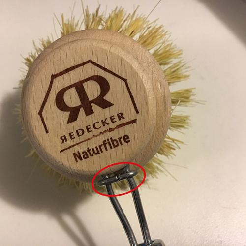 Dish brush - Beechwood with replacable brush