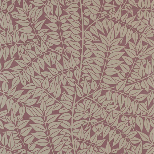 William Morris & Co. Wallpaper - Branch Heather - old fashioned style - classic interior - retro