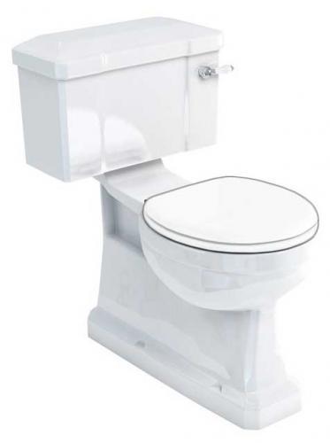 WC - Burlington toalett, smal cistern, S-lås