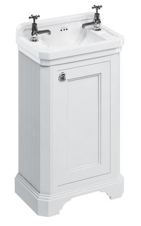 Bathroom vanity - 51 cm white porcelain