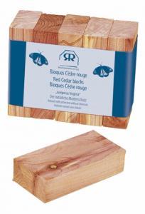 Fragrance blocks - Red Cedar 5-pack