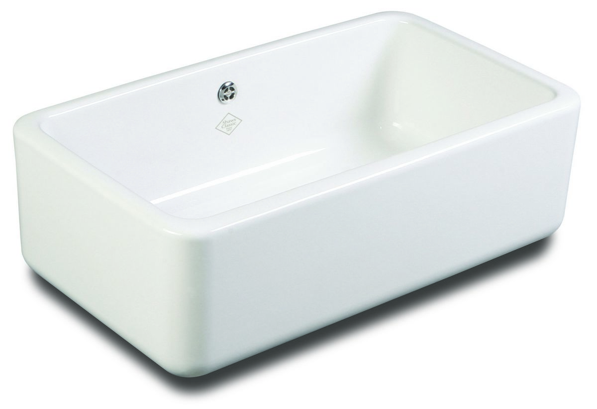 Kitchen sink porcelain shaws classic butler 800 old style