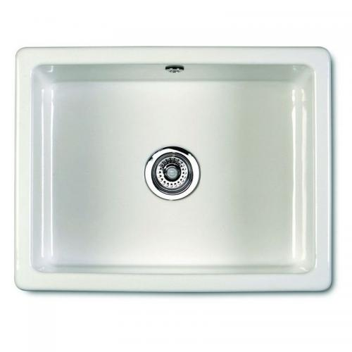 Kitchen Sink Porcelain - Shaws Classic Inset 600