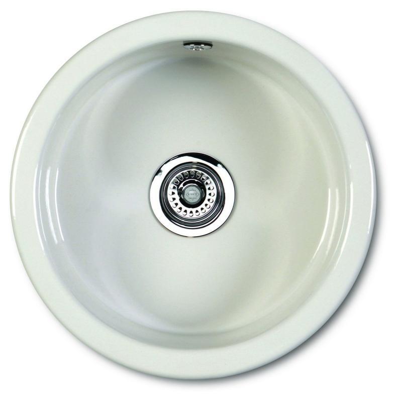 Kitchen Sink Porcelain - Shaws Classic Round 460