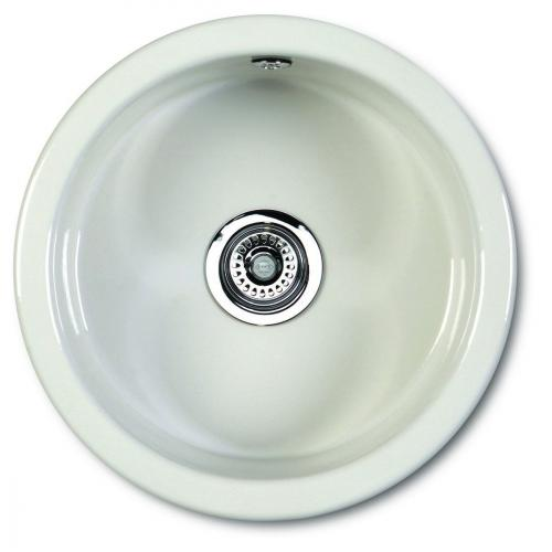 Kitchen Sink Porcelain - Shaws Classic Round 460