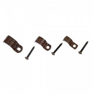 Clips till metallrör - sekelskiftesstil - gammaldags inredning - retro - gammal stil - klassisk inredning